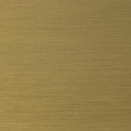 Gold plated brushed stainless steel