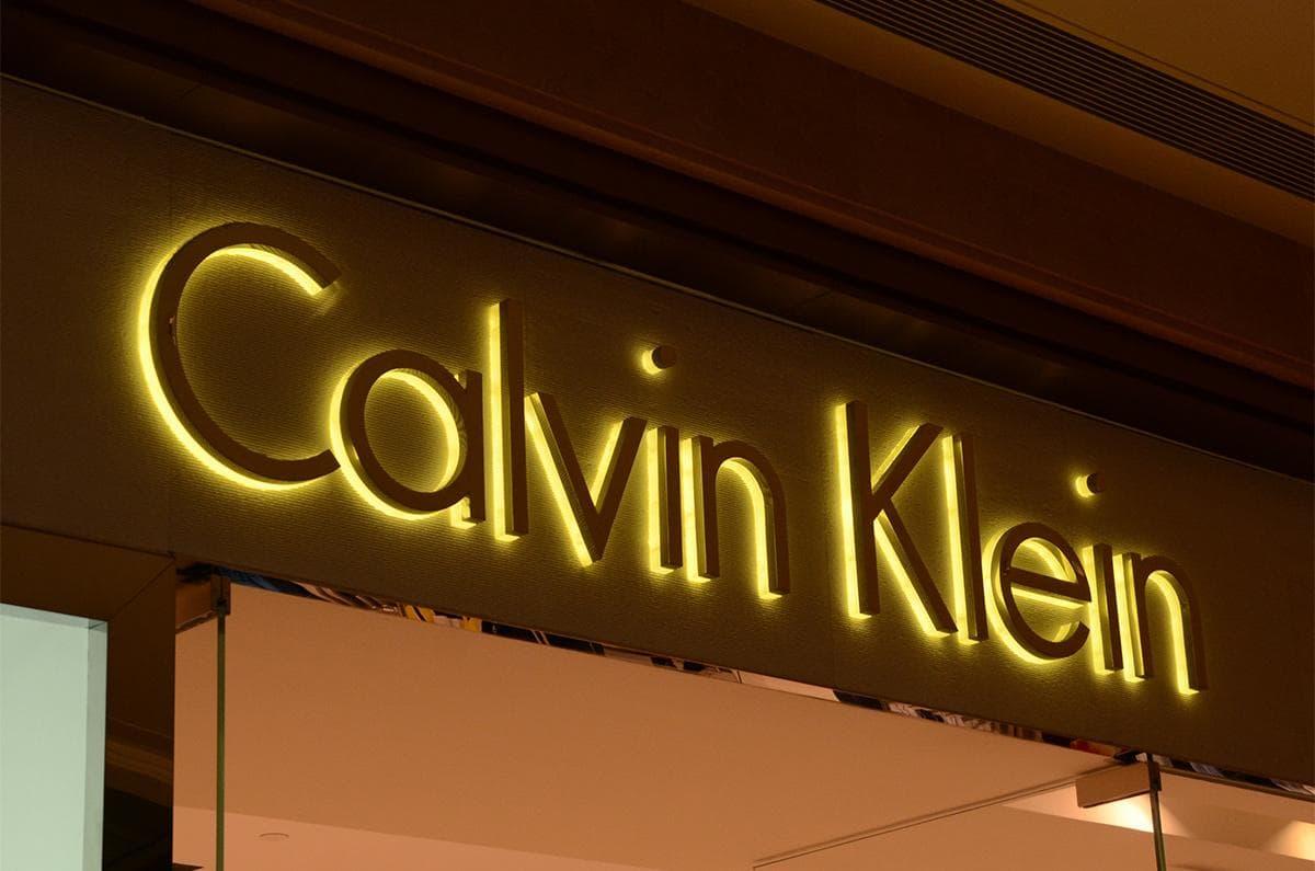 Luxury model LED backlit shop front signs