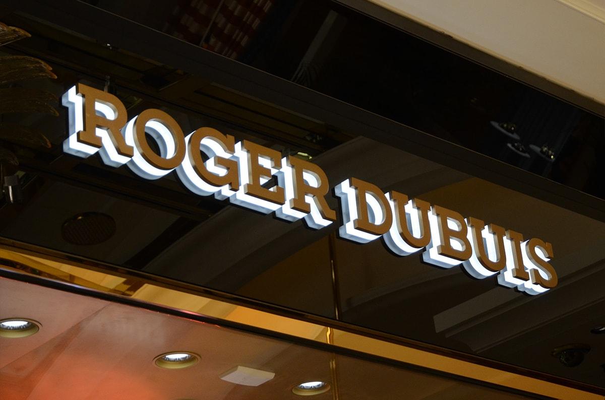Luxury model LED backlit business signs